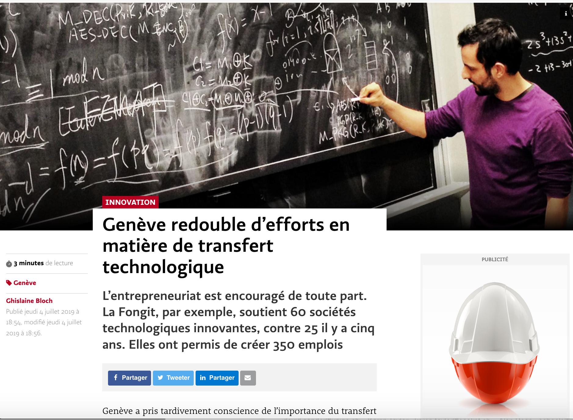 LT-04072019-Genève redouble d'efforts en matière de transfert technologique