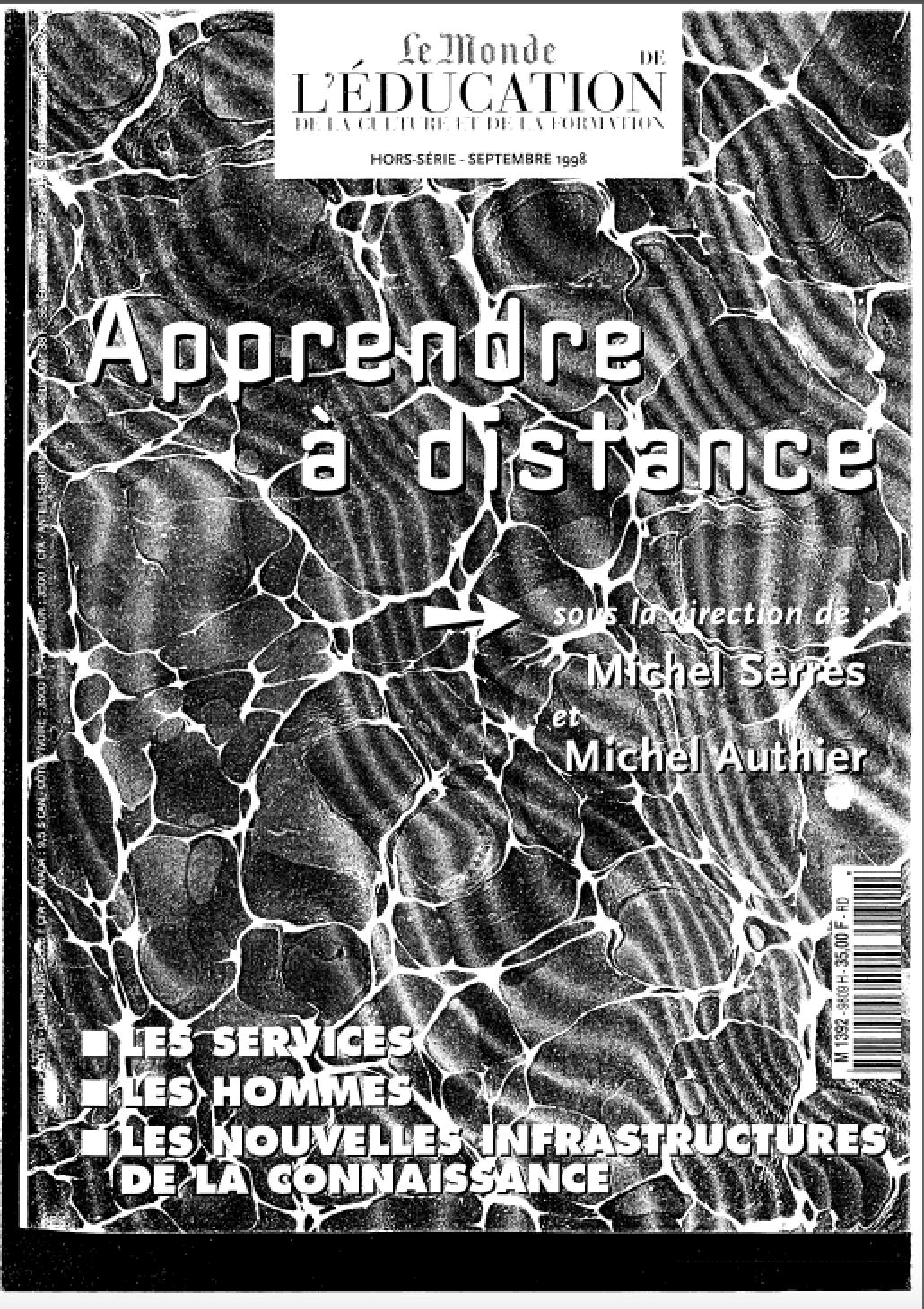 Magazine Apprendre La Photo hors série sept 1998 - le monde apprendre à distance sous la